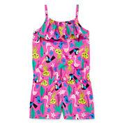 Okie Dokie® Sleeveless Popover Romper - Toddler Girls 2t-5t
