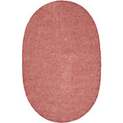 Better Trends Chenille Braid Oval Rug