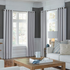 custom curtains & drapes for window - jcpenney