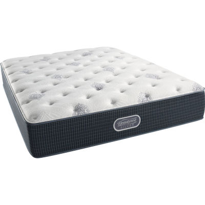 simmons beautyrest silver snowhaven plush mattress only