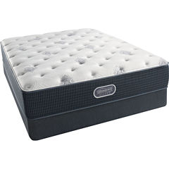Simmons Beautyrest Silver® Snowhaven Plush - Mattress + Box Spring