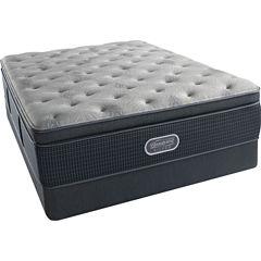Simmons Beautyrest Silver® Emory Hope Pillowtop Plush - Mattress + Box Springs