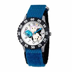 Disney Tsum Tsum Boys Blue Strap Watch-Wds000114