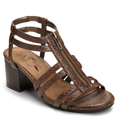 A2 by Aerosoles Mid Range Womens Heeled Sandals