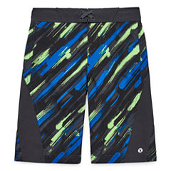 Xersion Boys Pattern Swim Trunks-Big Kid