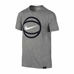 Nike Short Sleeve T-Shirt-Big Kid Boys