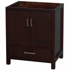 Wyndham Collection Sheffield 30 inch Single Bathroom Vanity