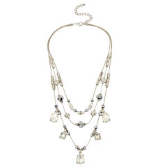 Bleu NYC Womens Illusion Necklace