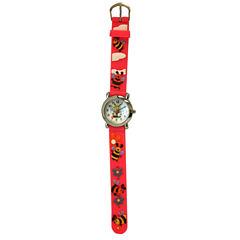 Olivia Pratt Kids Bees Pink Strap Watch-17194