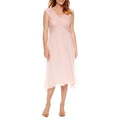 Melrose Sleeveless Embellished Fit & Flare Dress