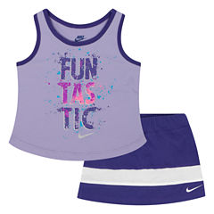 Nike 2-pc. Skirt Set Toddler Girls