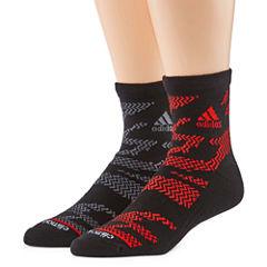 adidas 2 Pair Quarter Socks-Mens
