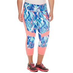 Xersion™ Knit Workout Capris Plus