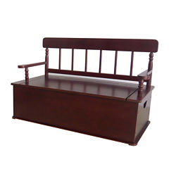 Levels of Discovery® Cherry-Finish Bench Seat