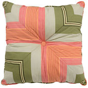Waverly® Wailea Coast Square Stripe Decorative Pillow