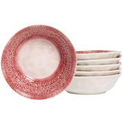 Tabletops Gallery® Castleware Set of 6 Melamine Cereal Bowls