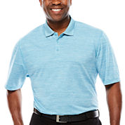 D'amante Short-Sleeve Dyed Polo - Big & Tall