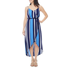 a.n.a Sleeveless Wrap Dress