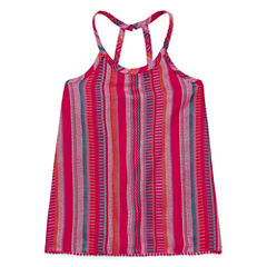 Arizona Strappy Woven Tank Top - Girls' 7-16 and Plus