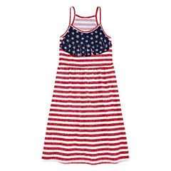 City Streets Sleeveless A-Line Dress - Girl's 4-16 and Plus