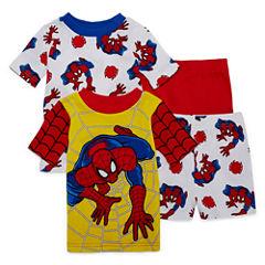 4-pc. Spiderman Kids Pajama Set Boys