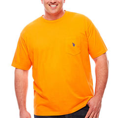 U.S. Polo Assn. Short Sleeve Crew Neck T-Shirt-Big and Tall