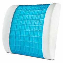 ModernHome Gel Overlay Memory Foam Lumbar Support Pillow