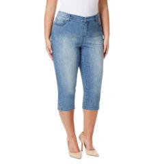 Gloria Vanderbilt Plus Size Capris & Crops for Women - JCPenney