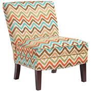 Selena Curved-Back Slipper Chair