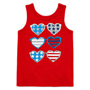 Okie Dokie® Americana Tank Top - Baby Girls newborn-24m