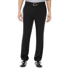 Claiborne® Sharkskin Flat-Front Dress Pants - Classic