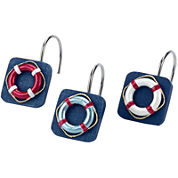 Avanti® Life Preservers II Shower Curtain Hooks