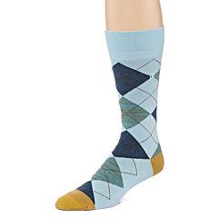 Gold Toe G® Dress Argyle Crew Socks