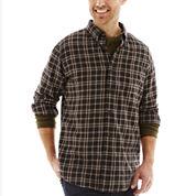 St. John's Bay® Long-Sleeve Legacy Plaid Flannel Shirt