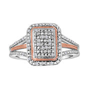 1/10 CT. T.W. Diamond Two-Tone