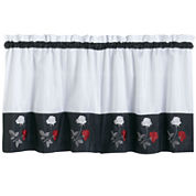 Rose Kitchen Curtains