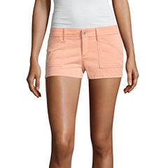 Arizona Twill Chino Shorts-Juniors