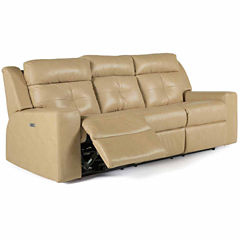 Leather Possibilities Pad-Arm Sofa