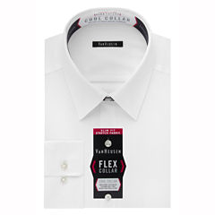 Van Heusen Van Heusen Flex Collar Cool Collar Slim Fit Long Sleeve Dress Shirt