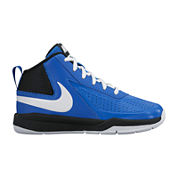 Nike® Team Hustle D 7 Boys Basketball Shoes - Little Kids