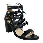 Olivia Miller Ghillie Lace-Up Sandals
