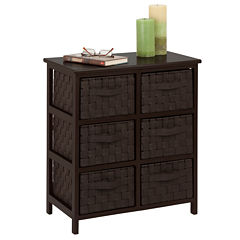Honey-Can-Do® Woven 6-Drawer Chest