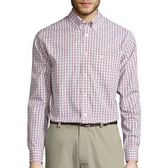 Dockers® Signature Long-Sleeve Windowpane Woven Shirt