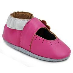 Momo Baby Mary Jane Girls Crib Shoes-Baby