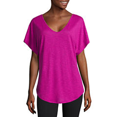 Xersion Short Sleeve Dolman T-back Tee