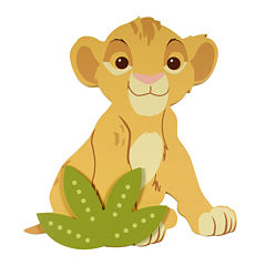 Disney Baby Lion King Wall Art