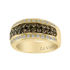 LIMITED QUANTITIES Le Vian Grand Sample Sale  1 CT. T.W. Chocolate & White Diamond 14K Yellow Gold Ring