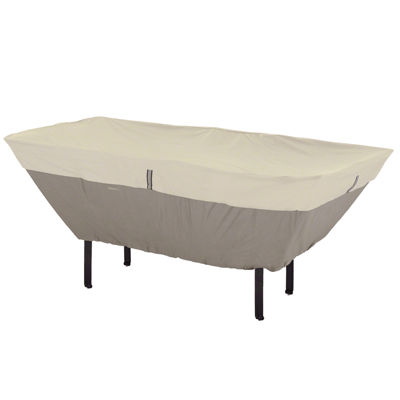 Classic Accessories® Belltown Small Patio Rectangular/Oval Table U0026 6 Chair  Cover