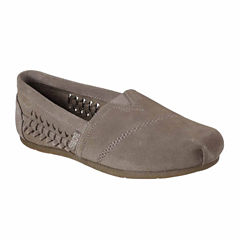 Skechers Bobs Luxe Boho Crown Womens Slip-On Shoes
