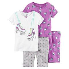 Carter's 4-pc. Kids Pajama Set Girls